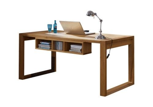 Gradel Arcona Office Unterbauregal  für organisierten Schreibtisch Kernbuche massiv - Möbel Mit www.moebelmit.de
