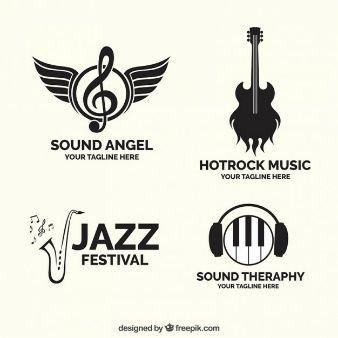 Colección de logotipos de música