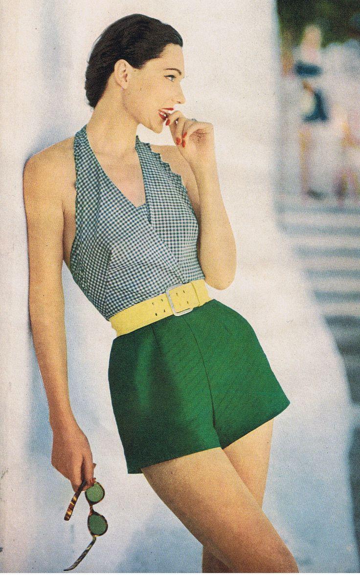 50's swimwear glam