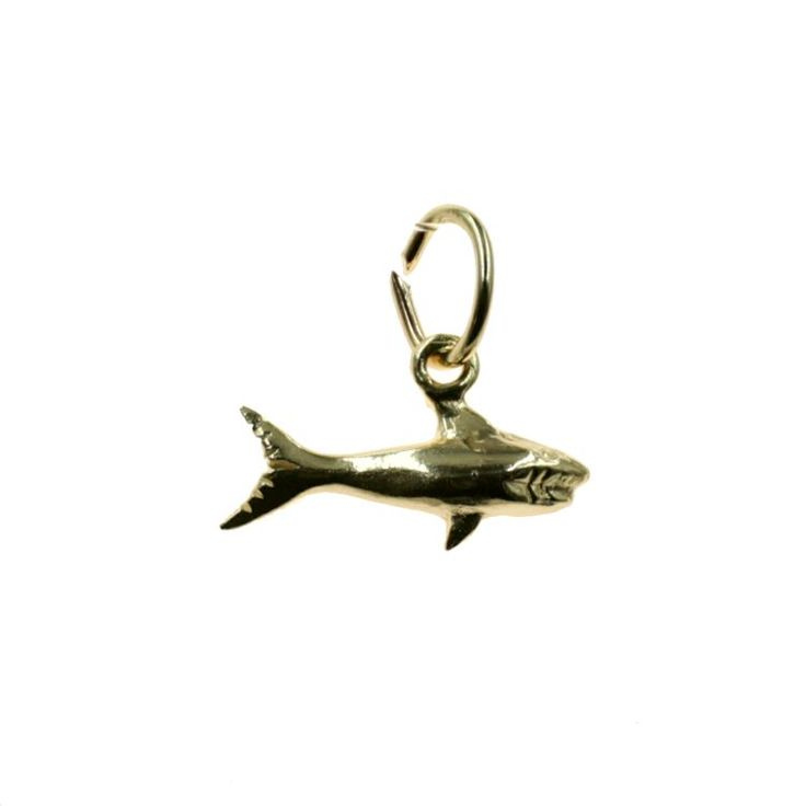 Buy our Australian made Shark Charm - chtr-cgc10818 online. Explore our range of custom made chain jewellery, rings, pendants, earrings and charms.