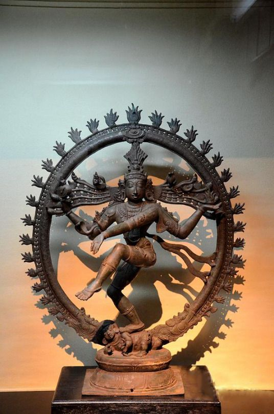 Hindu Statue Of Shiva In Nataraja Dance Pose