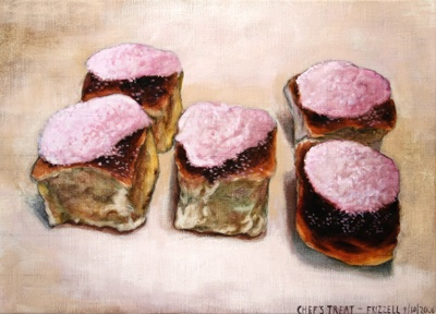 Dick Frizzell Chef's Treat, 2006