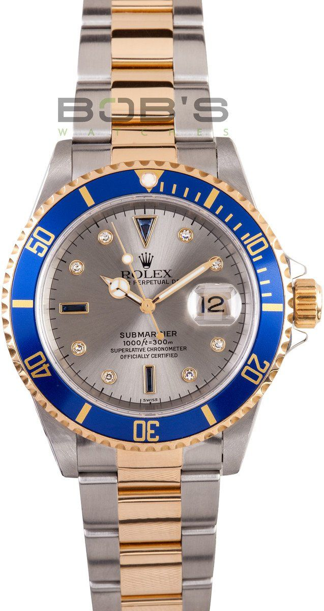 Rolex Serti Dial Submariner from Bob's Watches