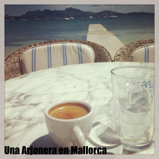 Cappuccino Gran Café Port de Pollença #mallorca