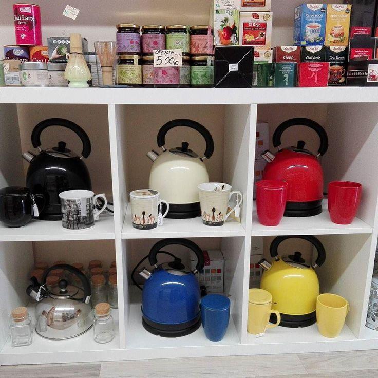 Terceras kettle eléctricas de 18L de capacidad. #teterasdecolores #teteraelectrica #kettle #tetera #teteras #tiendadete #teashop #te #té #tea #tenegro #terojo #teverde #teblanco #rooibos #rooibostea #greentea #redtea #blacktea #whitetea