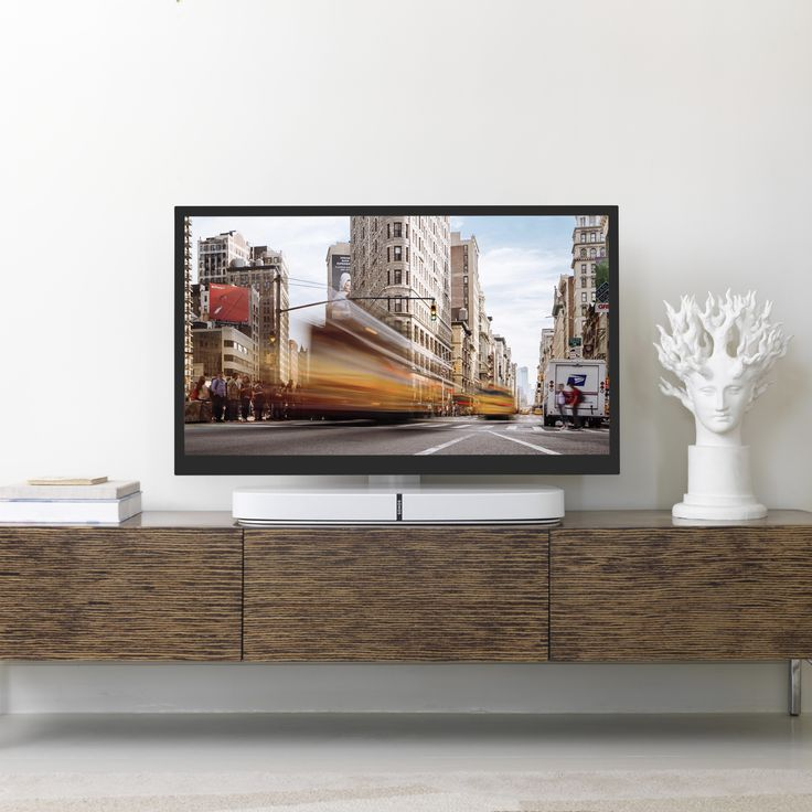 Flexson Flat to Wall Mount for SONOS PLAYBAR + TV - This ultra - ausgefallene mobel lcd tv stander mario bellini