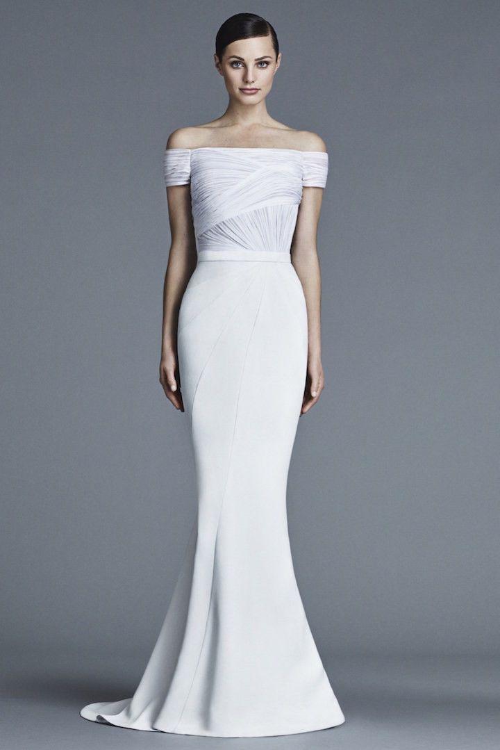 Modern wedding dresses bridal trend 2016 wedding dress for Simple modern wedding dress