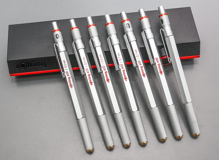 Rotring 600G vs 800 | Drafting and Mechanical Pencils ...