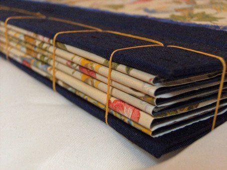 Encuadernación japonesa-cuaderno