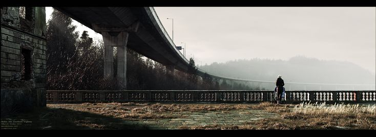 ArtStation - Under the southern highway, Marek Denko