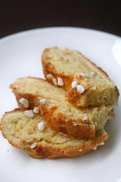 Pane allo zucchero (sugar bread)