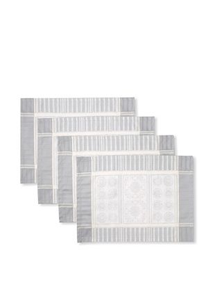 51% OFF Garnier-Thiebaut Set of 4 Tuileries Placemats (Argent)