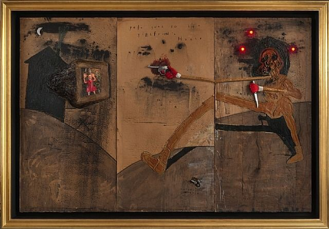 david lynch paintings | David Lynch Exhibition: New Painting and Sculpture