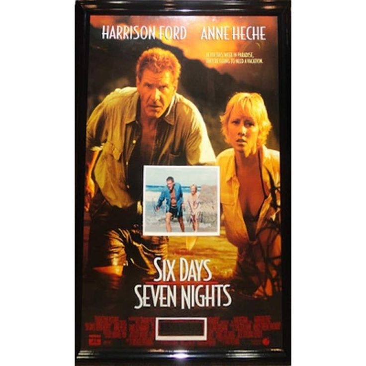 Luxe Six Days Seven Nights - Signed Movie Poster