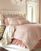 Neiman Marcus.: Soft Pink, Pastel Pink, Dreams Beds, Comforter, Beds Linens, Pink Bedrooms, Guest Rooms, Puff, Girls Rooms