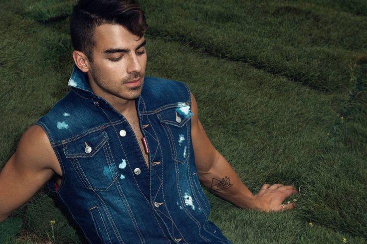 The making of Joe Jonas' School Spirit shoot