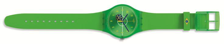 #swatch #mundial #worldcup #design #trends #fashion #reloj #watch #brasil  http://revistafuror.blogspot.com/2014/05/swatch-se-une-al-mundial-de-futbol-con.html