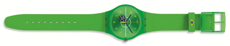 #swatch #mundial #worldcup #design #trends #fashion #reloj #watch #brasil  http://revistafuror.blogspot.com/2014/05/swatch-se-une-al-mundial-de-futbol-con.html