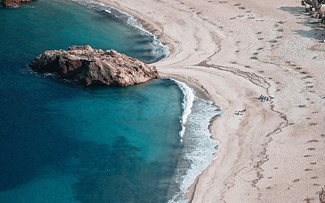 Paltsi Beach, Pelion, Greece. By Max Mayorov, via Flickr