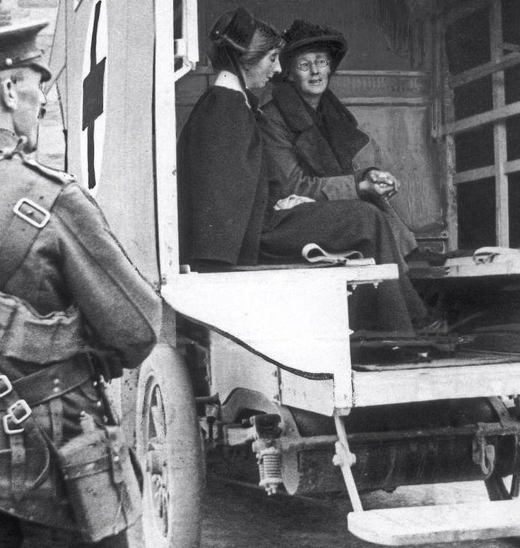 Countess Markievicz at Richmond barracks Inchicore.1916.
