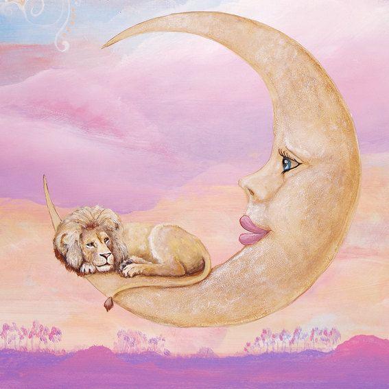 картинки лунных львы называют заболевание