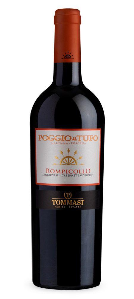 Poggio al Tufo Rompicollo Toscana IGT #sangiovese #cabernetsauvignon #Tommasiwine #Tuscany #wine http://www.poggioaltufo.it/wine/rompicollo/