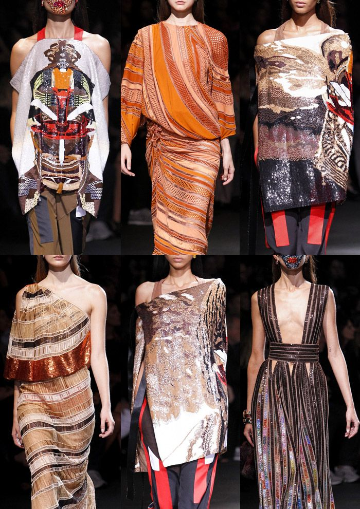 Semana de la Moda de París - Primavera / Verano 2014 - Imprimir Highlights Parte 2 pasarelas