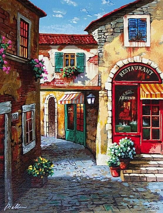 Anatoly Metlan #Painting #Art For more great pins go to @KaseyBelleFox