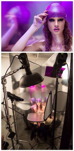 lindsay adler beauty portfolio intensive behind the scenes allison shelby lighting workshop setup