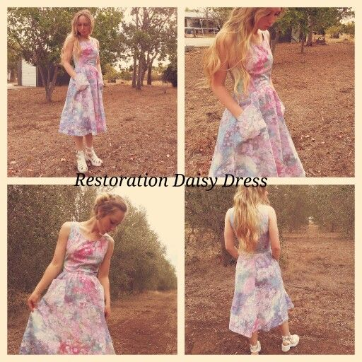 Restoration Daisy Dress. made by Oasis Living.