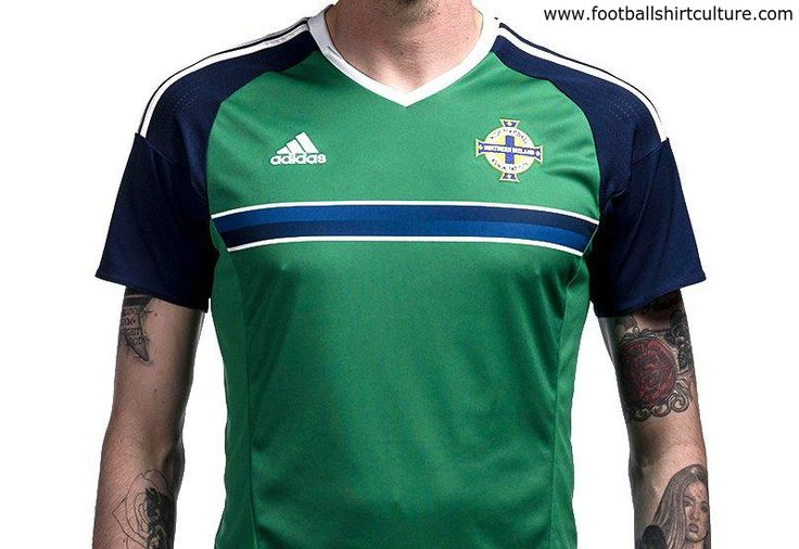 Northern Ireland Euro 2016 Adidas Home Kit