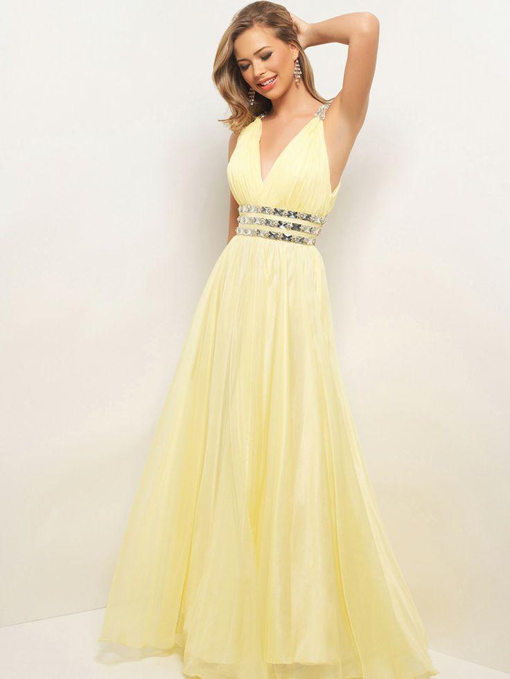 25  best ideas about Light yellow dresses on Pinterest | Sorority ...