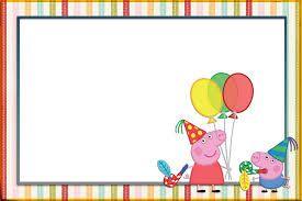Resultado de imagen para cumpleaños tematico peppa pig