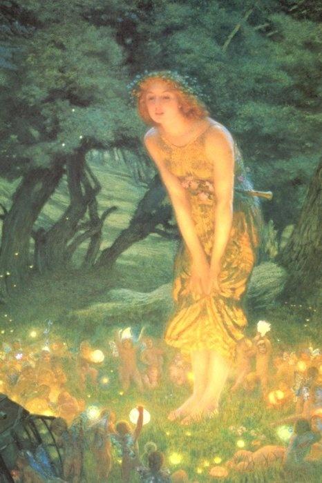 Edward Robert Hughes, Midsummer Eve, 1908