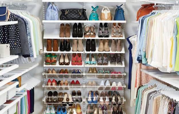 Full Closet Closet Organizer Ideas   Chic Ideas In Organizing Bedroom Closets, Clothing and Accessories