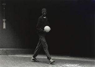 Untitled (Gutt med ball) by Tom Sandberg