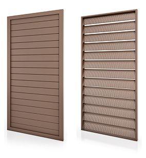 Inspiração: Brise móvel na porta ou janela