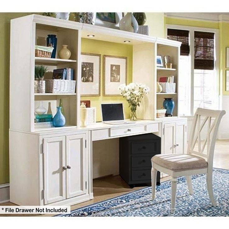 American Drew Camden Ermilk Desk Wall Unit Ad 920 595w 2545 00 Home Officesoffice