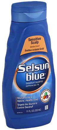 Selsun Blue Dandruff Shampoo Sensitive Scalp