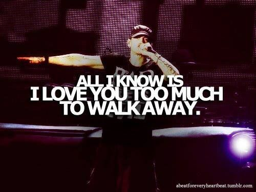 eminem quotes from love the way you lie