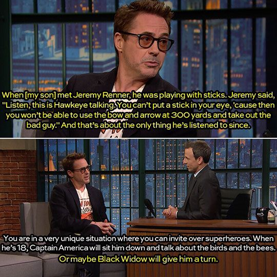 Let's be real, Steve doesn't know about the birds and bees - Perks Of Being Related To An Avenger