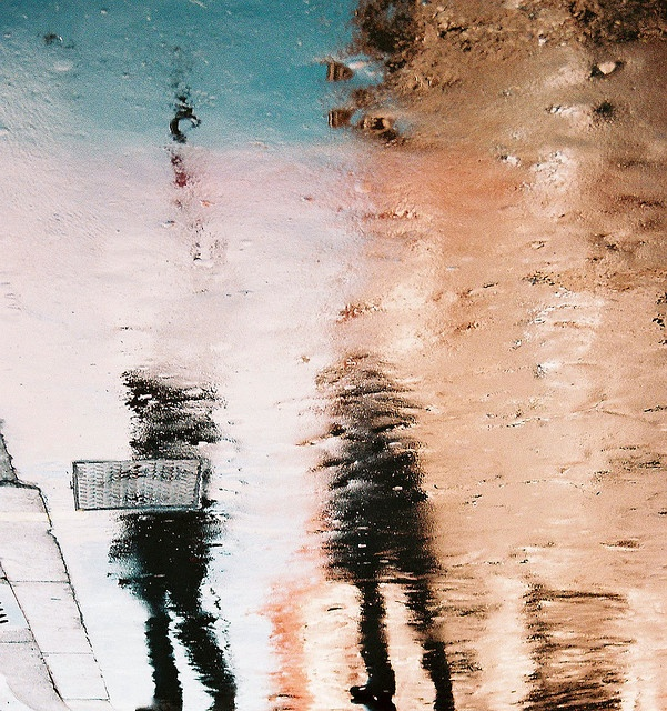 'Reflections' in London. #photography #reflection #abstract #urban