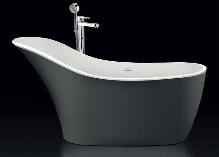 Banheira de imersão conforta bem a coluna durante o banho