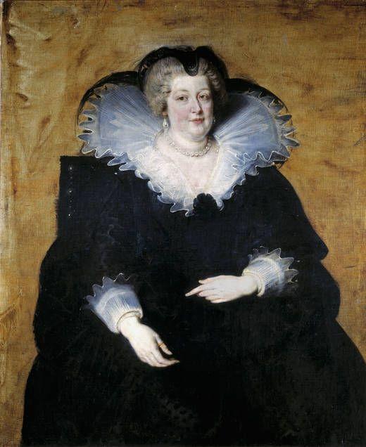 María de Médicis, Oleo sobre lienzo 1622  Pedro Pablo Rubens  Museo del Prado.