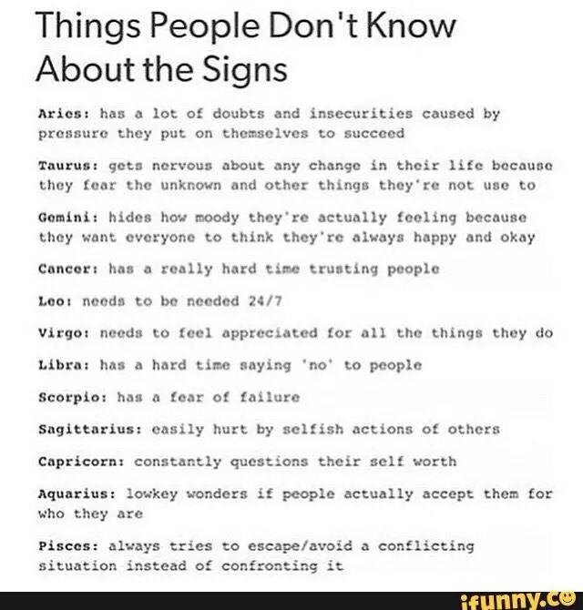 Pin auf Gemini Truths