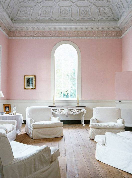 Things Go Better With Pink. Pink Living RoomsLiving ... Part 67