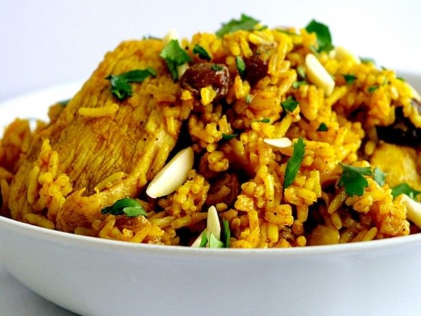 Chicken Biryani. Delicious one-pot meal.