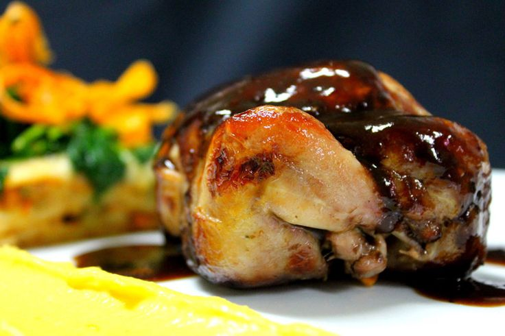 Quail fill in with Fig, as delicious as nice to see it! Adelaide SA - Chef Renato