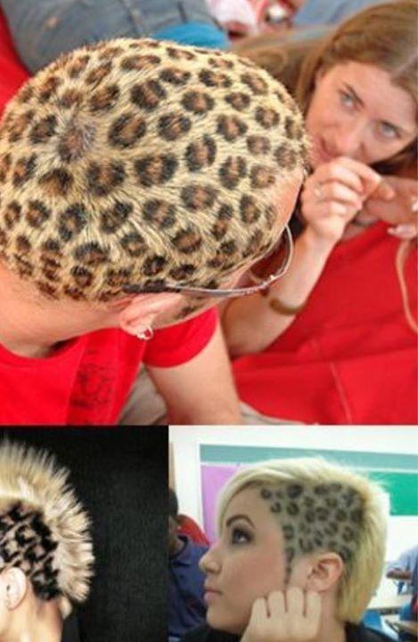 Capelli leopardati