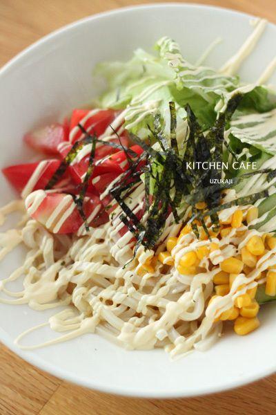 即席サラダうどん by uzukajiさん | レシピブログ - 料理ブログの ...